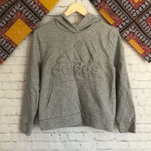 Adidas gray sweatshirt